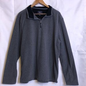G. H. Bass & Co. men's gray fleece shirt